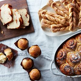 Bread and Pastries by Amanda