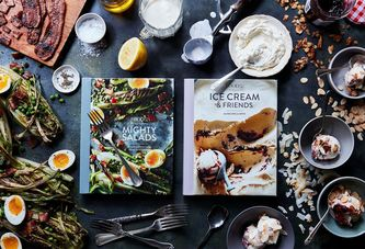 Here Come Our Next Two Cookbooks (There's Ice Cream Involved!)