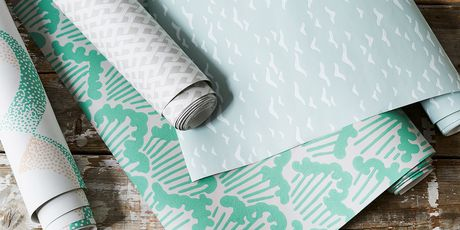 Dip your toes into the world of papered walls