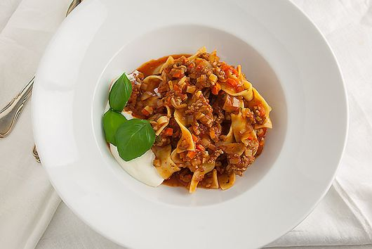 One-Pot Pasta Bolognese Style