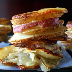 Potato Stack (Scalloped Potatoes)