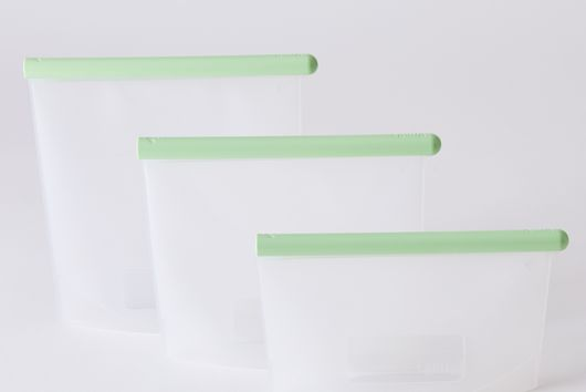 Leakproof Silicone Food Storage Bags