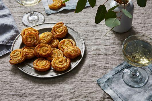 10-Minute Parmesan & Mustard Pinwheels