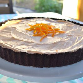 Chocolate Creamsicle Pie