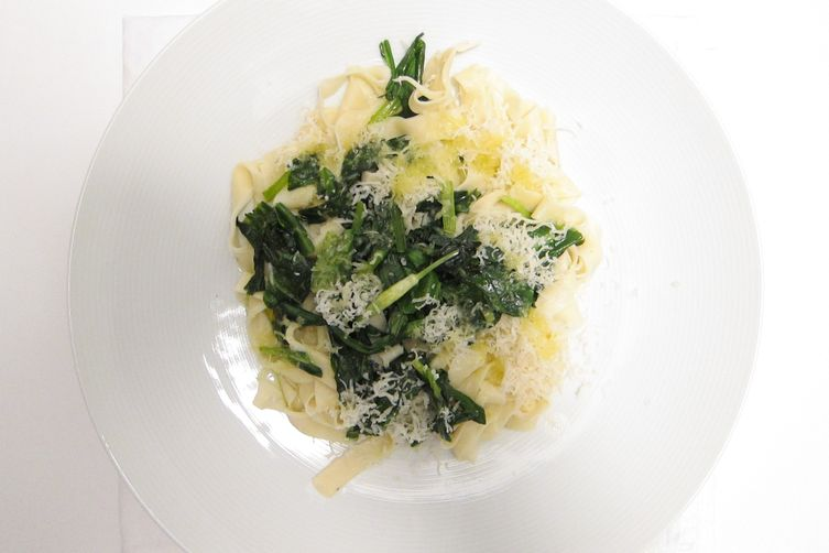 Garlic Wet & Wild - Tagliatelle of Ramps