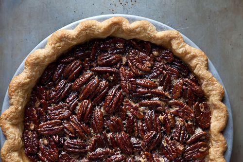 Spiced Maple Pecan Pie