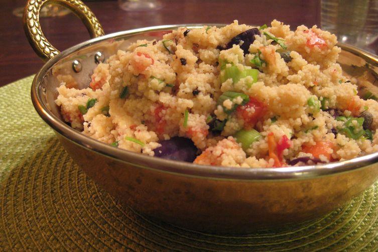 Mediterranean Salsa Couscous