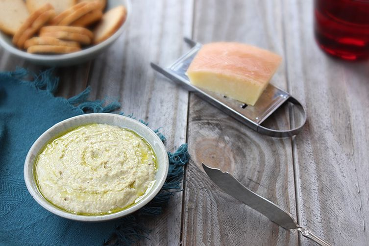 Roasted Anaheim Pepper and Manchego Pesto