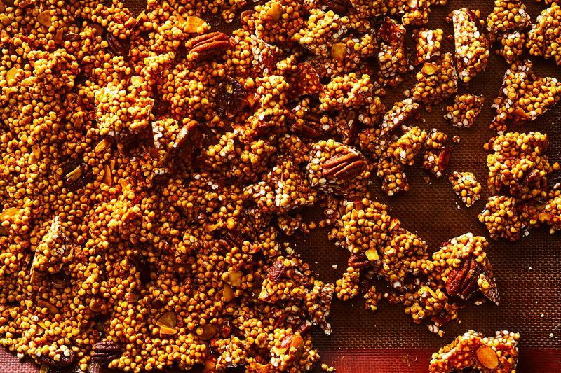 Sqirl's Puffed Granola (aka Turmeric Millet-nola)