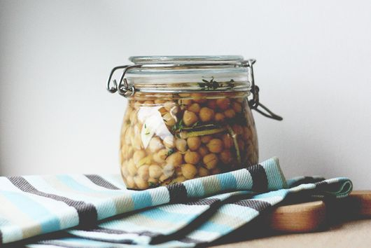 Thyme and Lemon Marinated Chickpeas