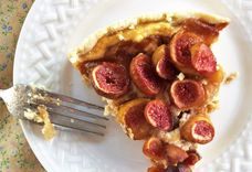 Carmelized Onion and Fig Tart