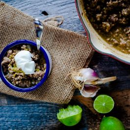 Spicy Green Chili