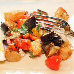 Tunisian Bread Salad