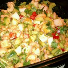 Zesty, Spicy Shrimp Salad with All Things Celery