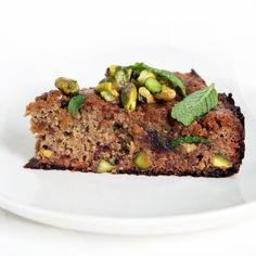 Flourless Pistachio & Date Cake
