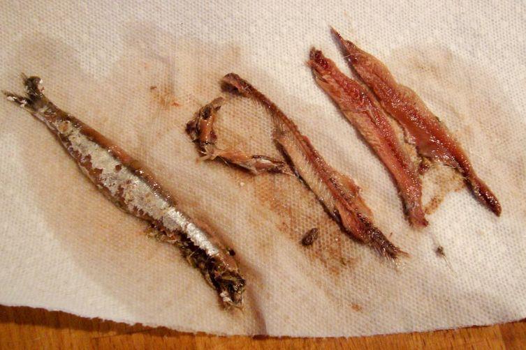 Semi traditional bagna cauda recipe on food