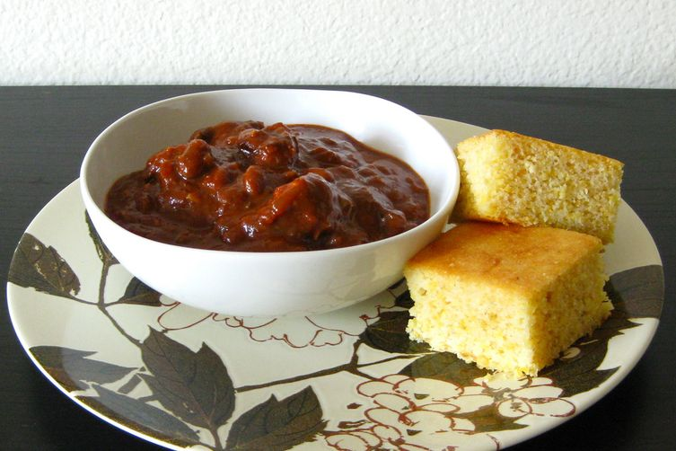 beef, pork and pinto bean chili