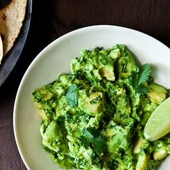 How to Plate Guacamole with Style