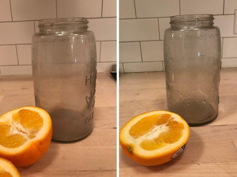 The citrus hack: orange edition.