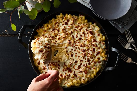 Creamiest Baked Mac & Cheese
