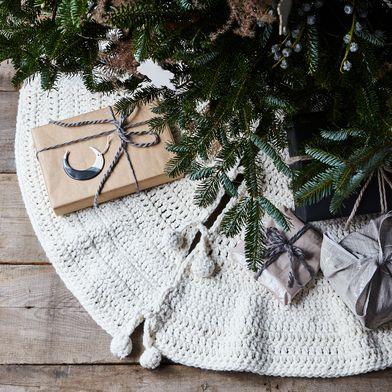 Hand-Crocheted Tree Skirt