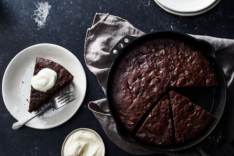 Dark Chocolate Olive Oil Skillet Banana Bread Recipe On Food52