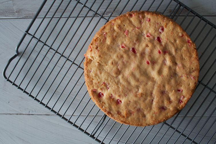 Homemade Cherry Chip Cake