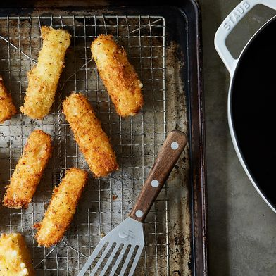 How to Make Mozzarella Sticks Better Than the Snack Bar's