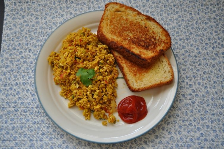 Masala Scrambled eggs - Egg bhurji