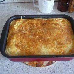 Savory Lokshen Kugel (Noodle Pudding)