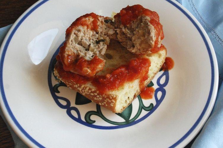 Sage-and-Walnut Pork Meatballs