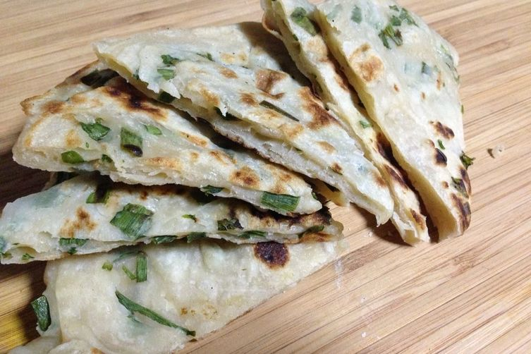 Taiwanese Scallion Pancakes