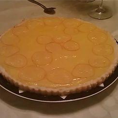 Lemon Tart with Candied Lemon Slices
