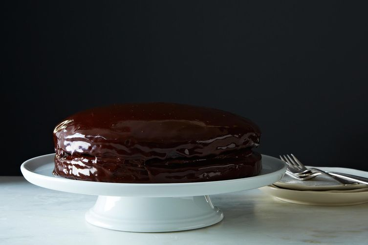 Chocolate Cake: Vegan cake