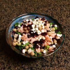 Salmon Salad with Lemon Dijon Dressing
