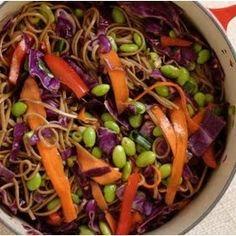Soba Noodle Summer Salad