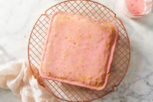 Blood Orange Poppyseed Ricotta Cake