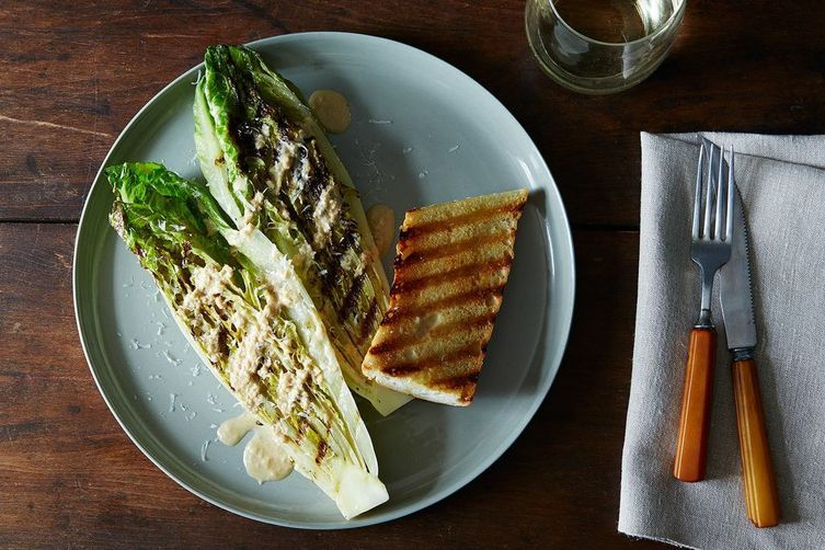 Grilled Caesar Salad on Food52