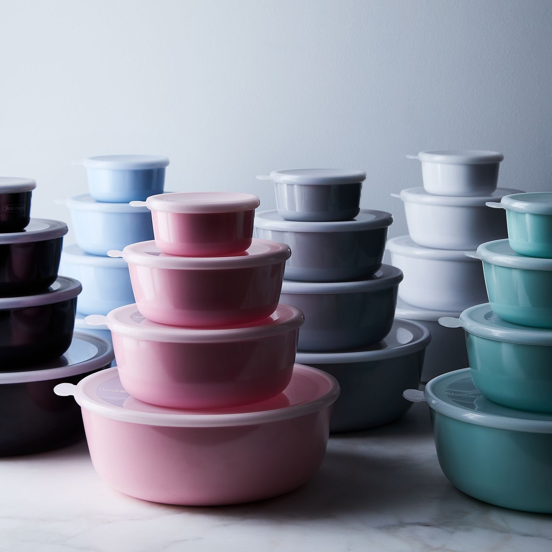 food52 x rosti mepal melamine nested storage bowls on food52. Black Bedroom Furniture Sets. Home Design Ideas
