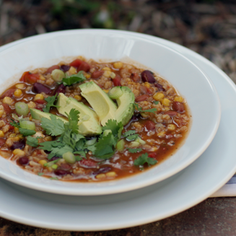 Vegetarian Taco Chili
