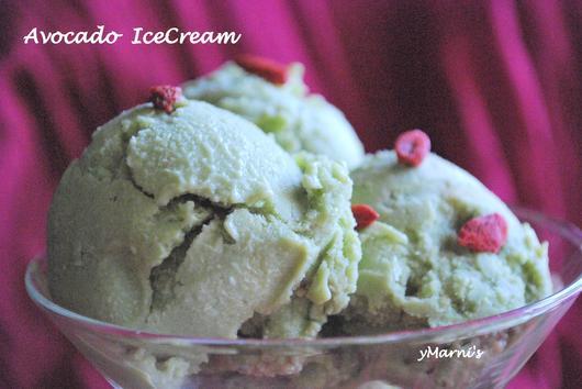 Avocado Coconut Icecream