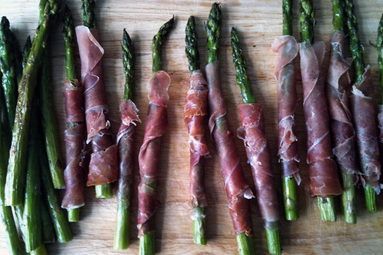 Proscuitto-Wrapped Asparagus
