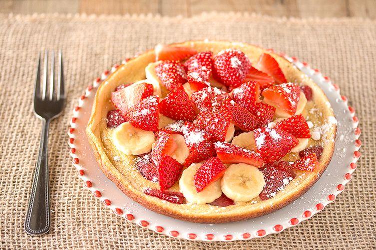 Honey Cloud Souffle Pancakes