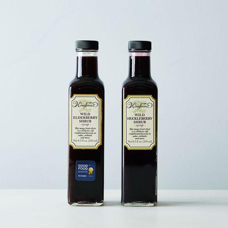Wild Elderberry & Wild Huckleberry Shrub (2 Bottles)
