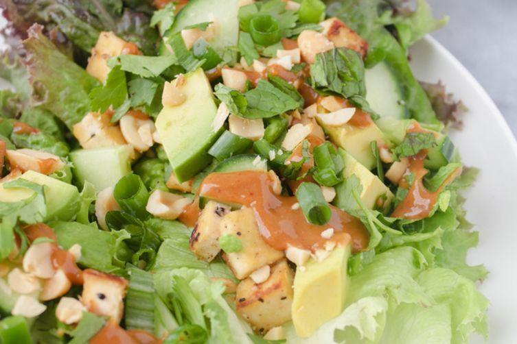Vietnamese Tofu Lettuce Wraps