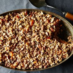 Apricot-Almond Baked Oatmeal