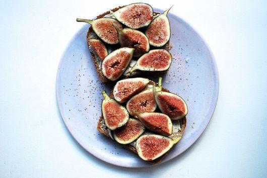 Fig Tahini Toast