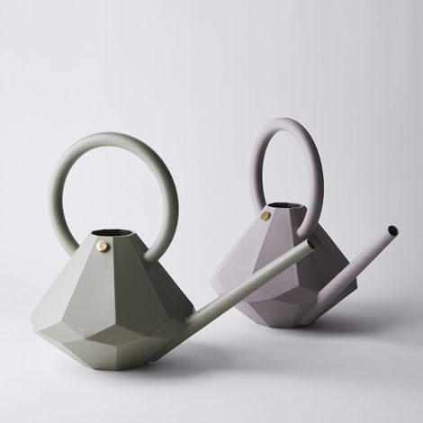 Faceted Watering Can