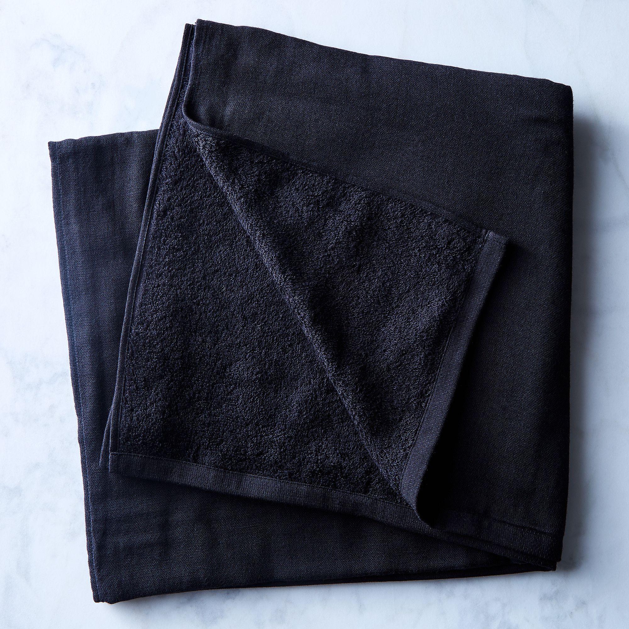 9ba5e5b8 1861 4596 b6e9 9b5347003563  2017 0815 morihata gauze towels bath towel black silo julia gartland 36054