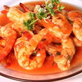 Romesco Shrimp